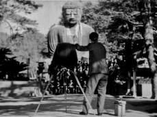 "Kamakura Big Buddha, Daibutsu, from the 1942 film, ""There was a father"""