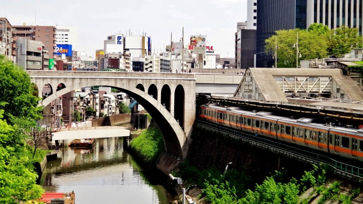 Mizonokuchi arch bridge