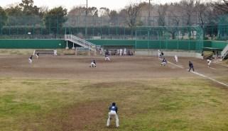 Baseball field flood pool Zenpukujigawa zoom