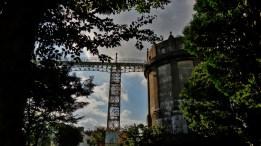 tokyo water tower Setagaya-ku scaffolding