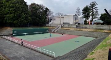 Zenpukujigawa tennis court flood control