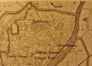 Yoshiwara map 1892