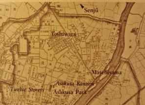Yoshiwara map 1892