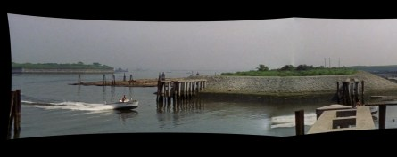Cruel Story of Youth boat scene - pilings