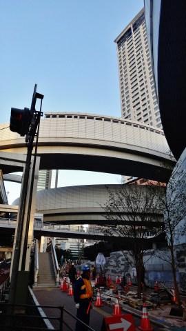 1. Construction of O-Path Ohashi highway interchange