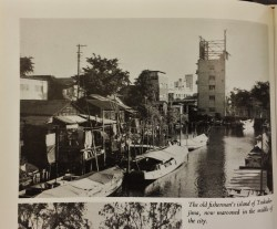 Tsukudajima Fishing Village Tokyo