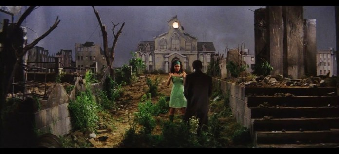 Chico Roland seduction scene church Gate of Flesh