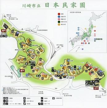 Japanese home museum Kawasaki map
