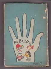 Life Ad Balloon book 1938 Japan Saseo Ono