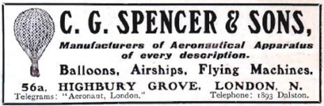 Source: Source: http://www.aviationancestry.com/LighterThanAir/Balloons/Balloons-CGSpencer-1909-1.html