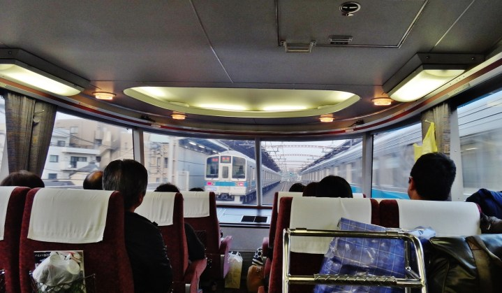 Odakyu 7000 series LSE Hakone Romance Car view