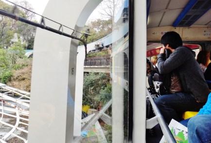 Ueno zoo monorail Tokyo Japan 2