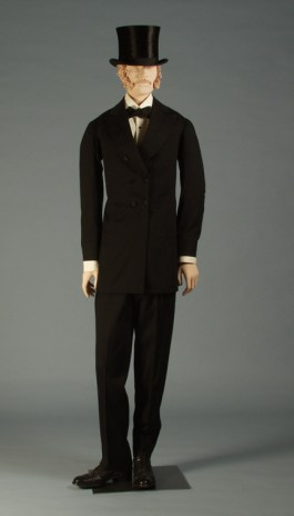 Frock coat and trousers, American 1876, KSUM 1986.41.2 ab
