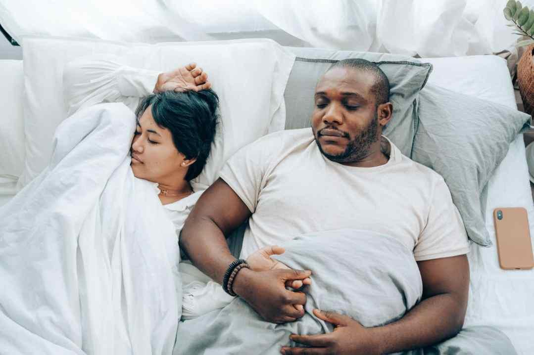 poc couple who are sleeping