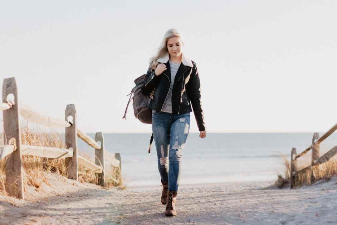 woman having a midlife crisis