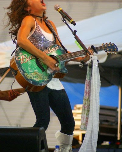 Candy Coburn at KY State Fair. Photo by Jessica Blankenship