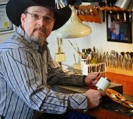 Cody Hixon of Great Point Custom Leather Works. Photo courtesy of Cody Hixon.