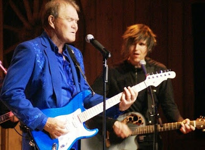 Glen Campbell performing at Renfro Valley Entertainment Center. Photo by Jessica Blankenship.