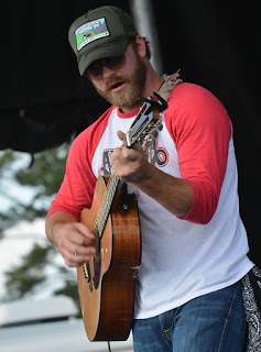 Drake White talks about his southern outdoor way of life. Photo by Rick Diamond.