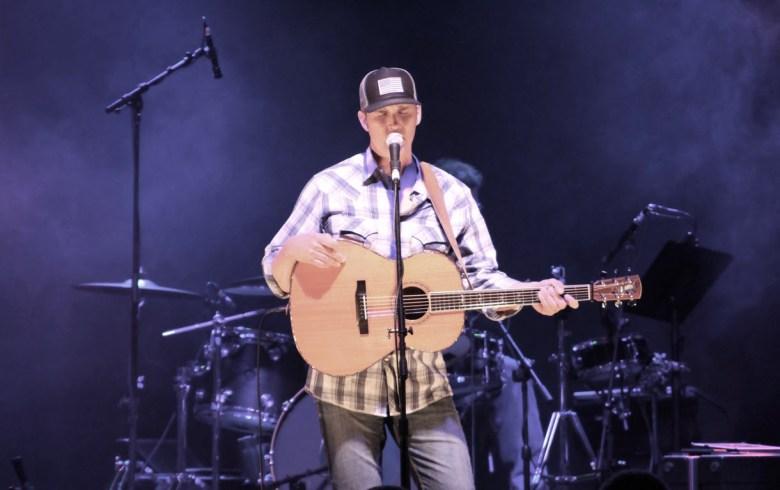 Brice Long performs at his Back to Back Charity, benefitting Kentucky families. Photo courtesy of Brice Long.
