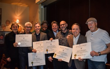 BMI presents Exile members with Million Airplay Awards