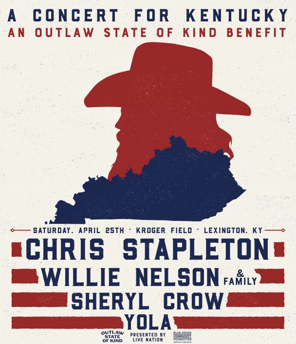 Chris Stapleton set to headline concert at Kroger Field