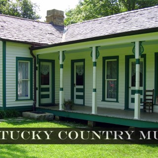 Bill Monroe Homeplace was restored in 2002 and is available to tour. Photo by Jessica Blankenship.