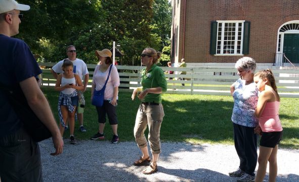 Lexington Public Library_Shaker Hill hike_june 2016