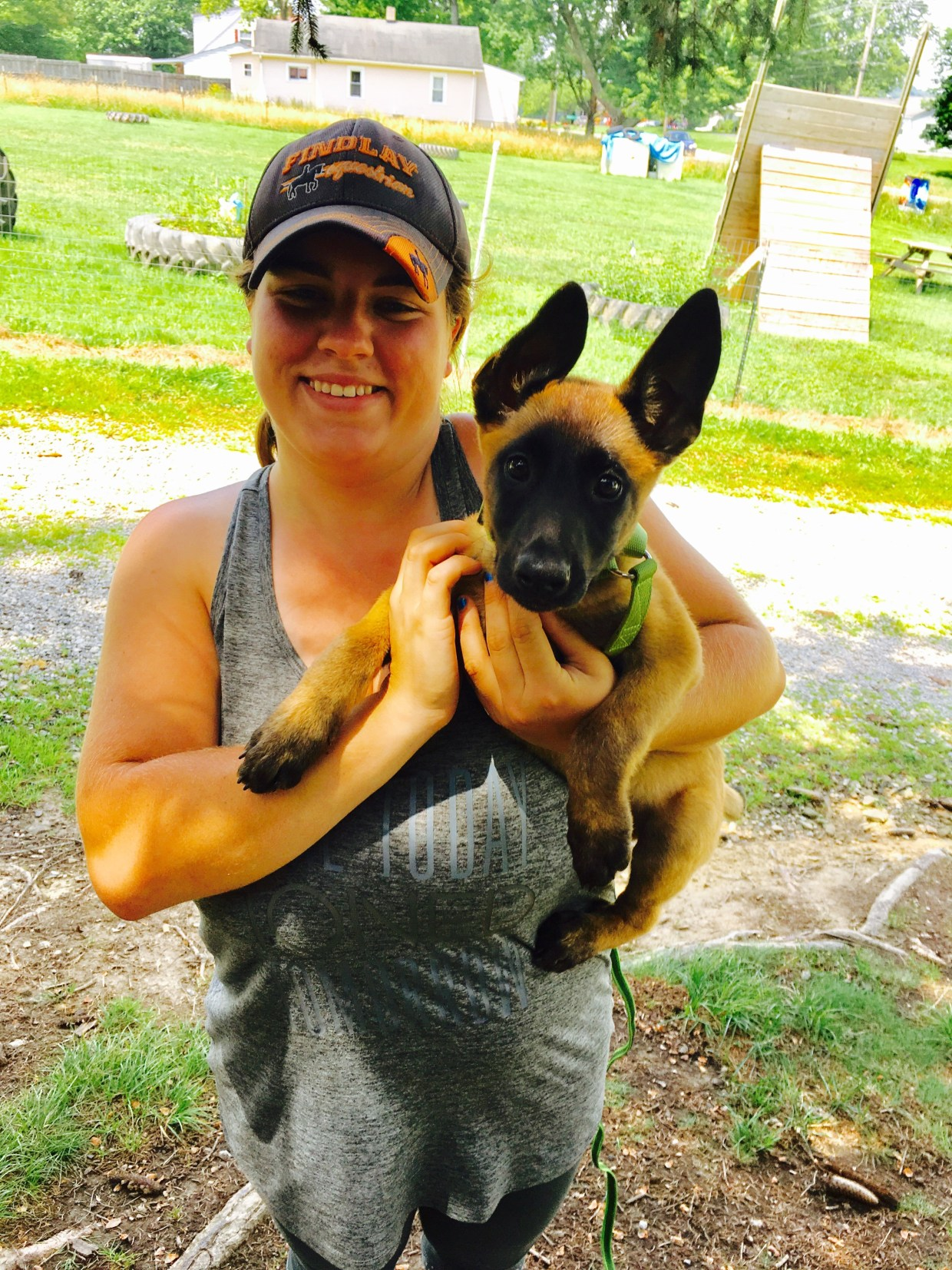 Puppy behavioral issues with trainer