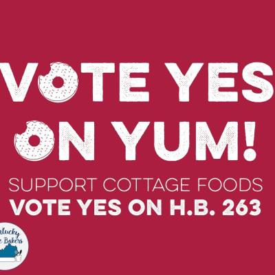 House Bill 263: An Act Related to Home-Based Food Products