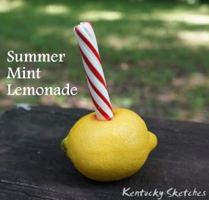 Summer Mint Lemonade