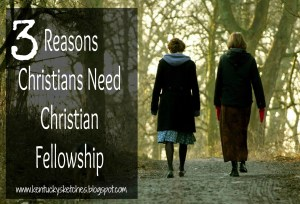3 Reasons Christians Need Christian Fellowship