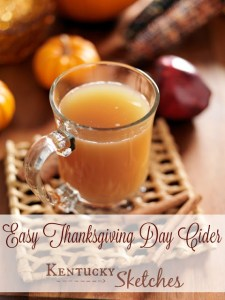 Easy Thanksgiving Day Cider