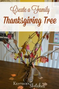 Create a Thanksgiving Tree