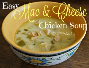 Easy Mac and Cheese Chicken Soup