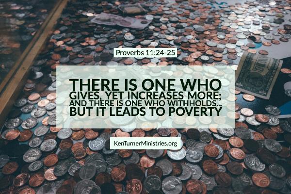 Proverbs 11:24-25 – Generosity Leads to Abundance