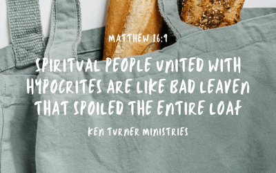 Remember, It's Not About The Bread – Matthew 16:9