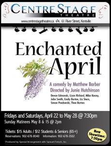 """Enchanted April"" ~ CentreStage Theatre"