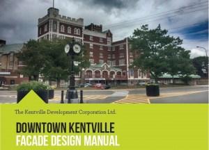 Hot Off The Press … The Kentville Facade Design Manual