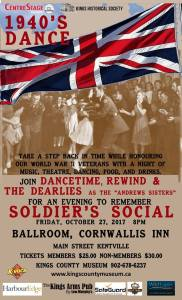 """Soldier's Social"" ~ October 27th"