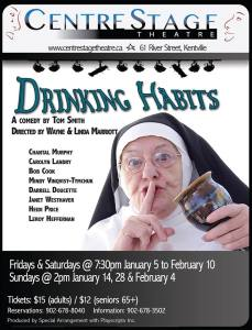 """Drinking Habits"" Opening At Centre Stage …"