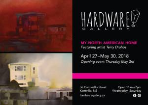"Exhibit at the Hardware Gallery ~ ""My North American Home"""