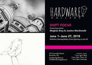 "New Hardware Gallery Exhibit ~ ""Shift Focus"""