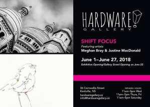 "New Hardware Gallery Exhibit ~ ""Shift Focus"""