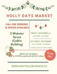 Holly Days Market