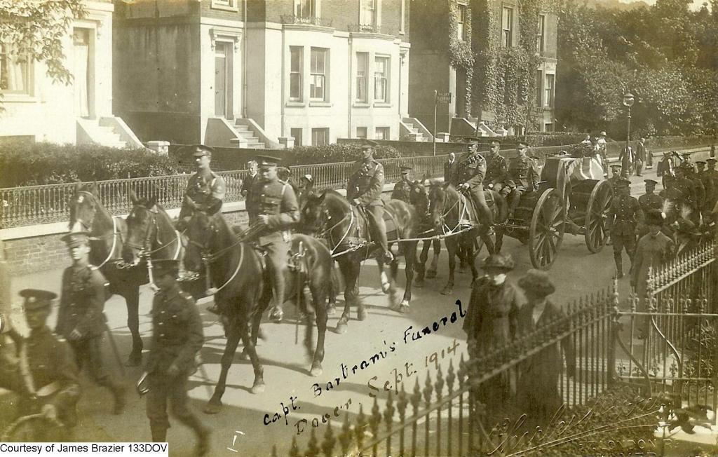 133DOV - Funeral of Capt Bartram at Dover 1