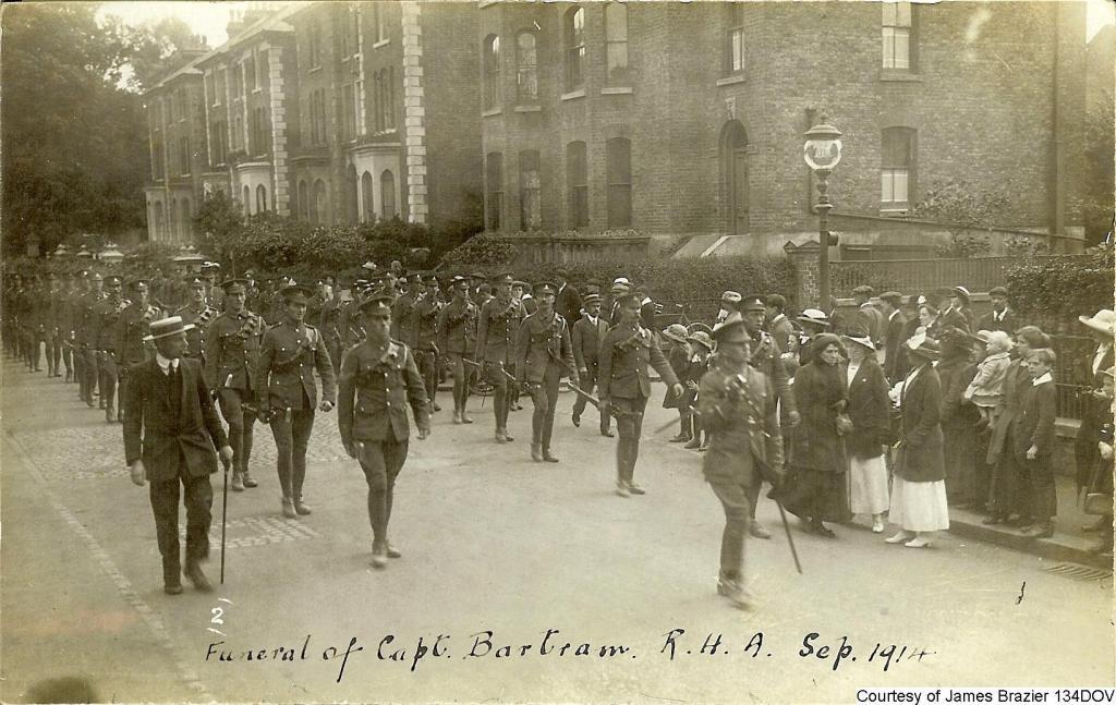 134DOV - Funeral of Capt Bartram at Dover 2
