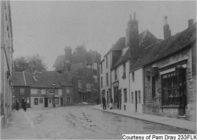 234FLK - The Bayle area Folkestone '1911'