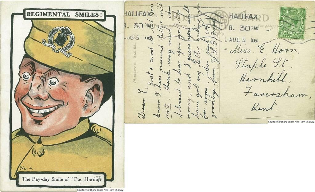 351FAV – Regimental Smiles (Front & Back)