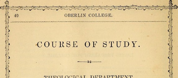 "Image from page 85 of ""Annual catalogue of the officers and students of Oberlin College for the college year"" (1850)"